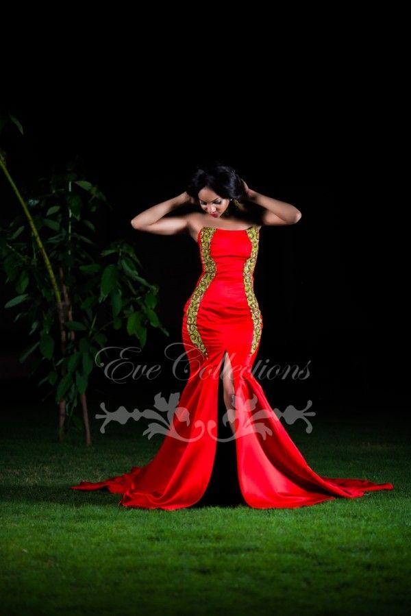 Eve Collections est un label créé par la tanzanienne Evelyn Rugemalira. La marque de fabrique d'Eve Collections ? Les tenues de soirée habillées, class et distinguées pour femme. Rappelez-vous cette belle tenue portée par Miss Tanzanie que nous vous avions partagée il y a quelques temps Voir les photos de Miss Tanzanie dans une robe ...