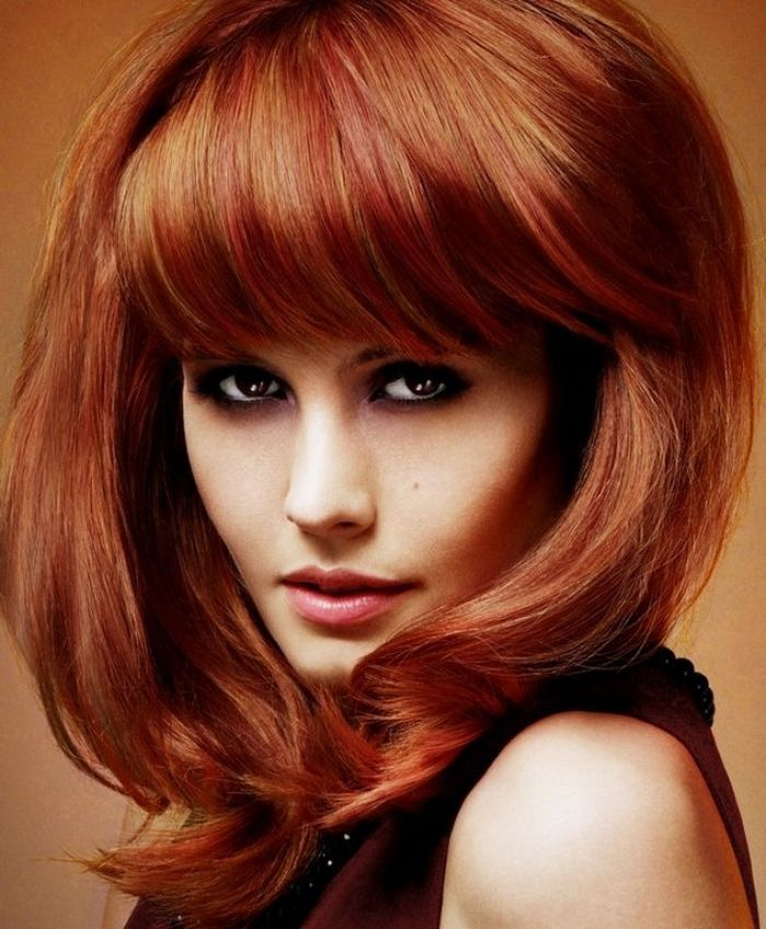 9 Best Medium Length Hairstyles For Thick Hair Images On
