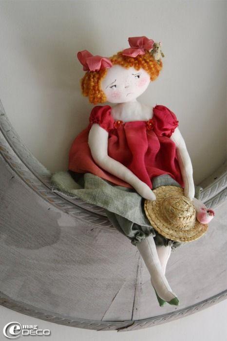 Doll: Craft, Doll, Dolls, Baby Doll, Garden, Rag Dolls, Of Farfalous