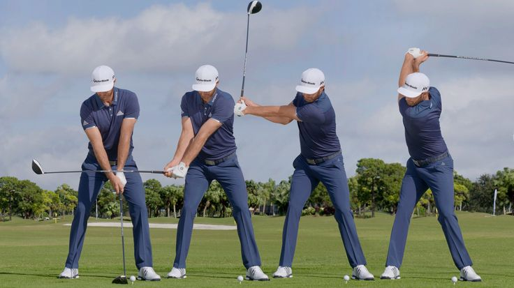 Pin by fredo on Golf - Swing Sequences   Dustin johnson ...