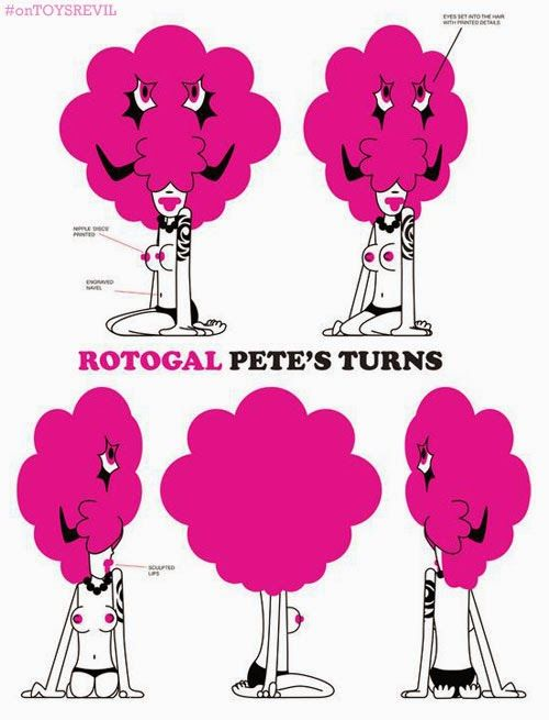 TOYSREVIL: Turnarounds for ROTOGAL from Pete Fowler x Pretty ...