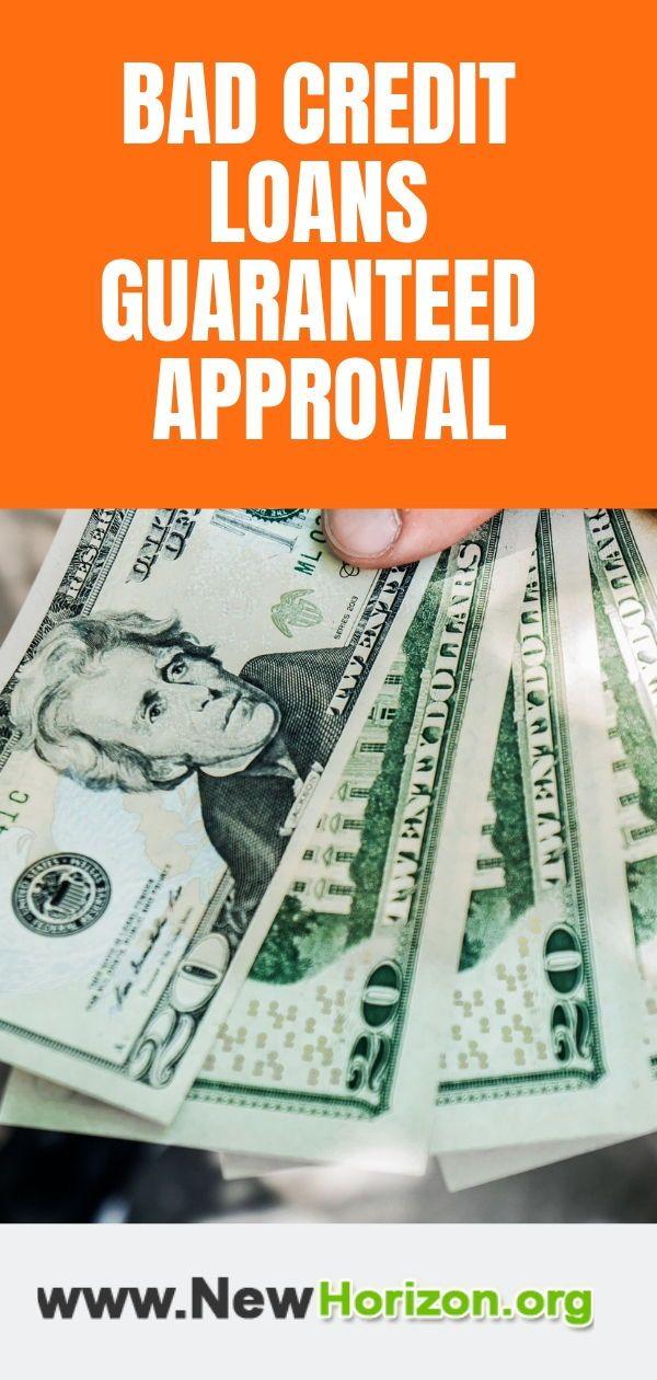 Bad Credit Personal Loans 100 Guaranteed Approval No Credit Loans Bad Credit Personal Loans Loans For Bad Credit