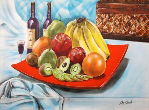 Deco Fruit Study #1
