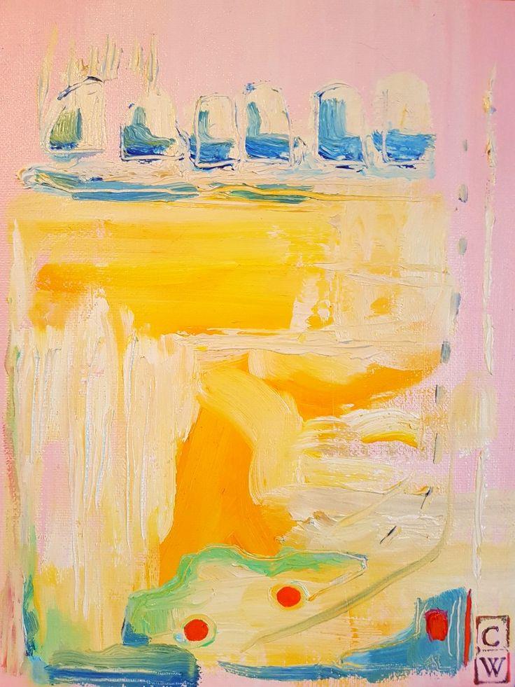 Oilpainting by Charlotte Wiktorsdotter  25x20 cm