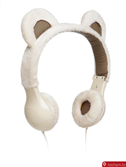 Kocham.to - Pluszowe słuchawki