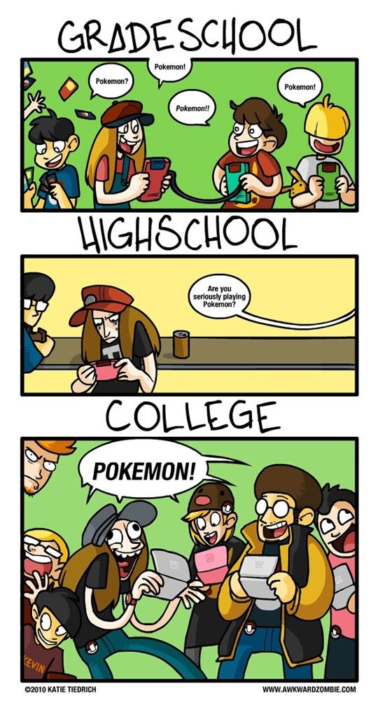 So much truth.  Shout out to my people at the Liberty University video game club.