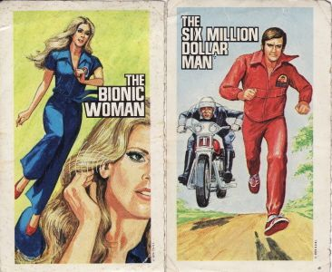 six million dollar man and bionic woman relationship books