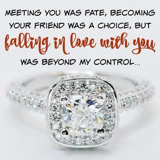 Meeting You Was Fate Lovequotes Https T Co Proposal Quoteslove Quotesinspirational Quoteswedding Ringslife Coach Quotesquotes