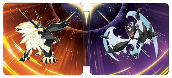 Amazon Canada lists Pokemon Ultra Sun and Ultra Moon Steelbook Dual Pack   The Pokémon Ultra Sun & Pokémon Ultra Moon Steelbook contains both Pokémon Ultra Sun and Pokémon Ultra Moon games in addition to a collectible Steelbook case The outer art features Legendary Pokemon Solgaleo and Lunala The inner art features the line art of the two Legendary Pokémon on a gold background  Grab yours here  from GoNintendo Video Games