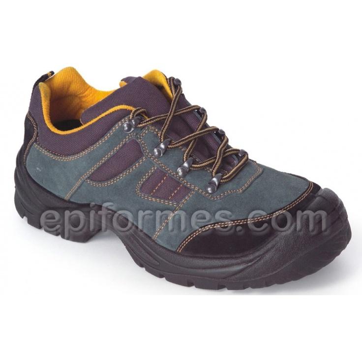Zapato de seguridad modelo River, sin metal beige Size: 44
