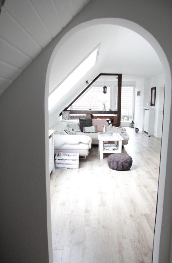 Dachgeschosswohnung renovieren ✓ einrichten im skandinavischen Landhausstil