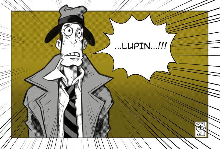 """ZAZA"" ZENIGATA - LUPIN III"