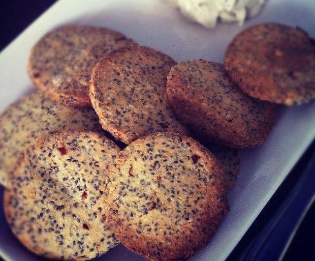 Pikáns Chia keksz