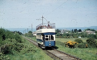 Howth Tram 1950s by MajorCalloway, via Flickr - got to ride on this just before it was taken out of service.