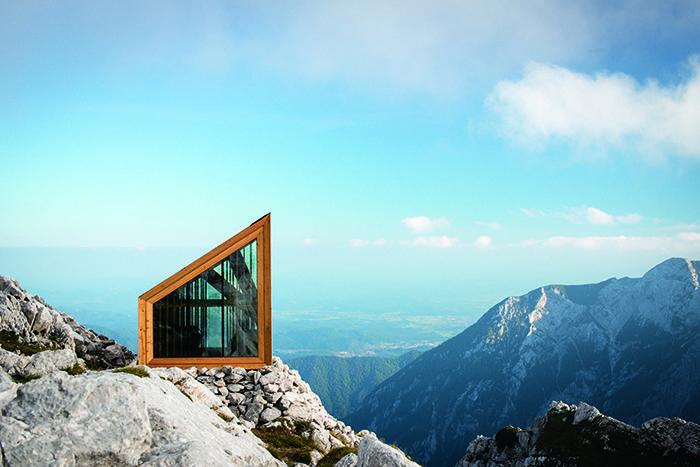 Alpine Shelter by OFIS Architects ➕ Skuta, Slovenia