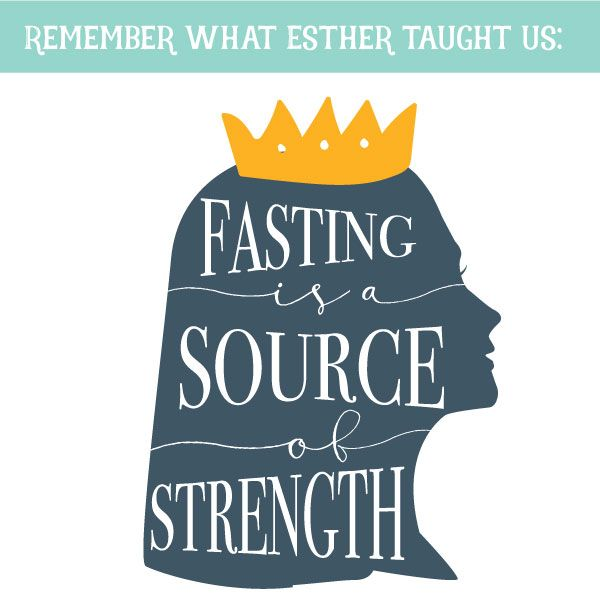 Why do we fast? Young Women lesson - text this image to your girls after the…