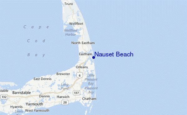 Nauset Beach Surf Forecast and Surf Reports (Massachusetts, USA)
