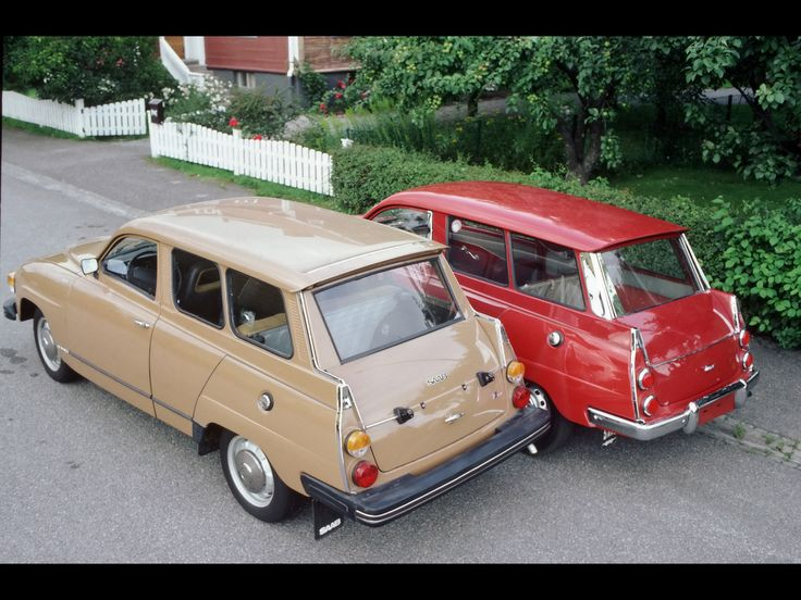 1959-1978 Saab 95 - 1959 And 1978