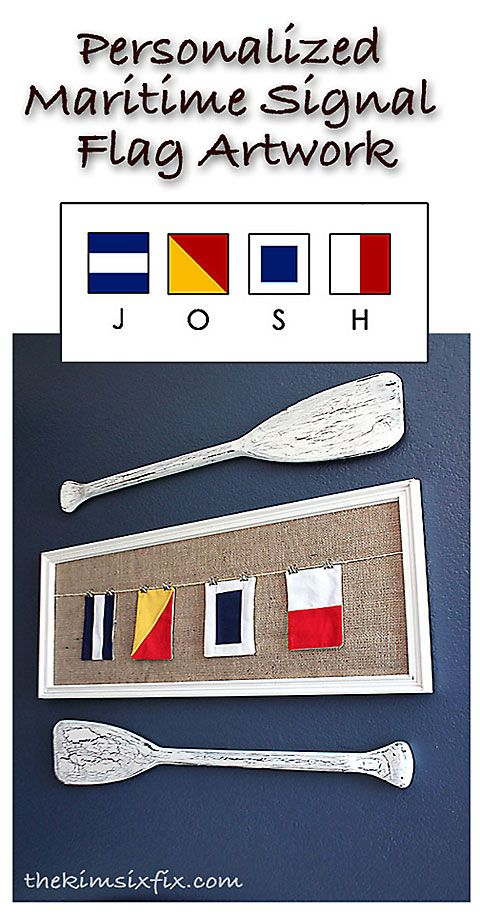 1025 best nautical baby or toddlers room ideas images on pinterest personalized maritime signal flag art negle Gallery