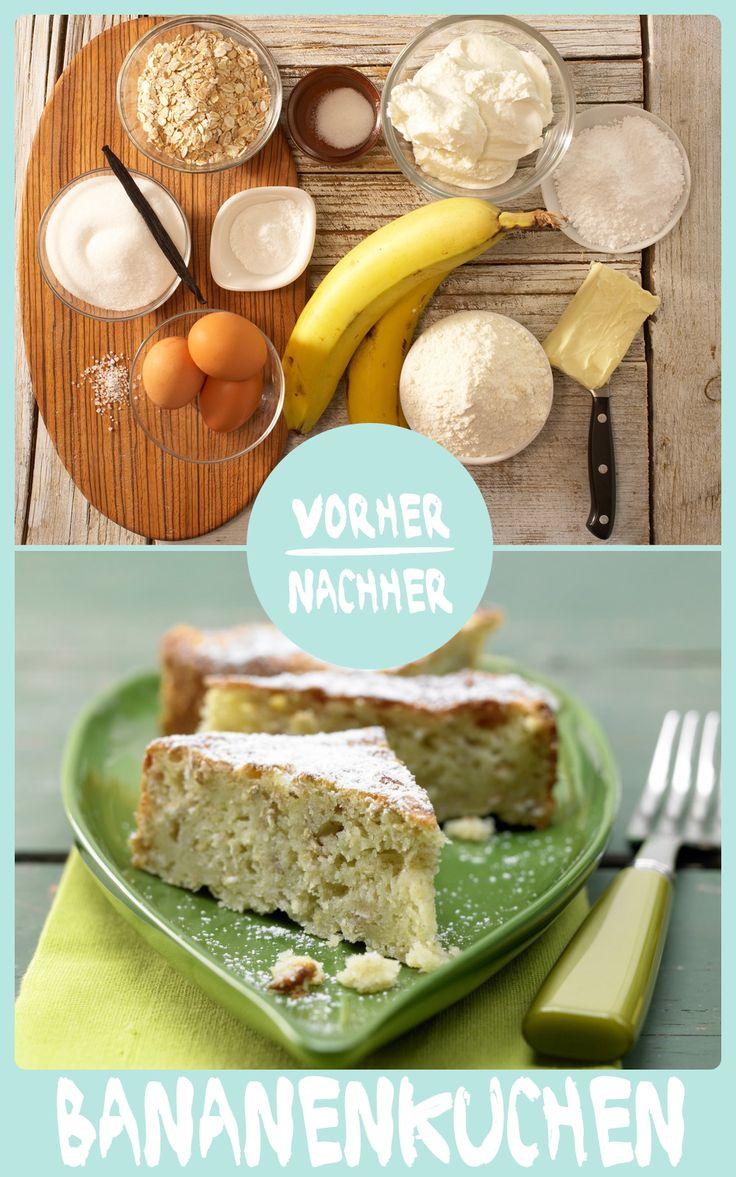 http://eatsmarter.de/rezepte/bananenkuchen Falls Ihr nicht wisst, was Ihr mit reifen Bananen machen sollt ;-) Banana Bread geht immer.