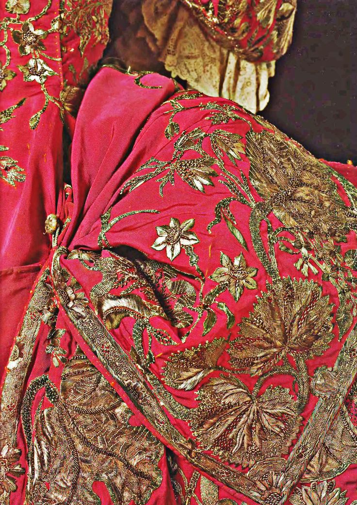 Detail, Gold Thread Embroidery