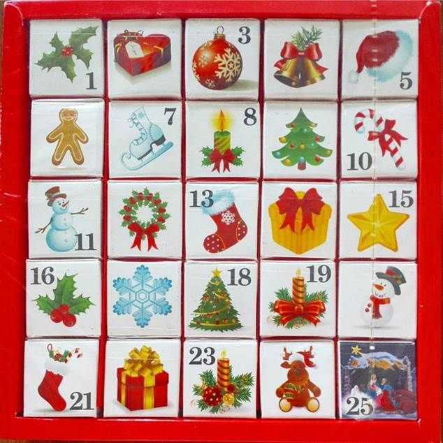 Repost of our lovely advent calendar! Christmas tea every day
