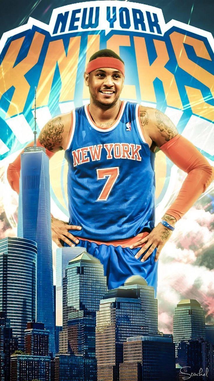 New York Knicks Art Knicks New York Knicks Kunst Art De New York Knicks Arte De Los New Y New York Knicks Logo Carmelo Anthony Wallpaper New York Knicks