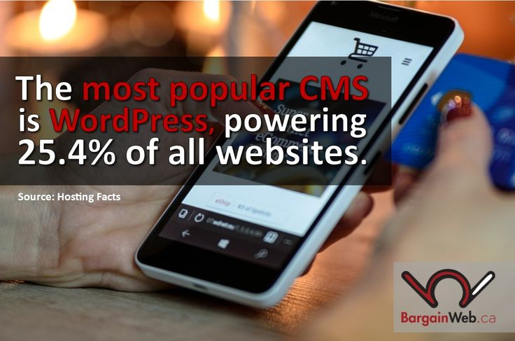 Can millions of websites be wrong?#BargainWeb #WebsiteDesign #Blog #WordPress #CMS #Reliable