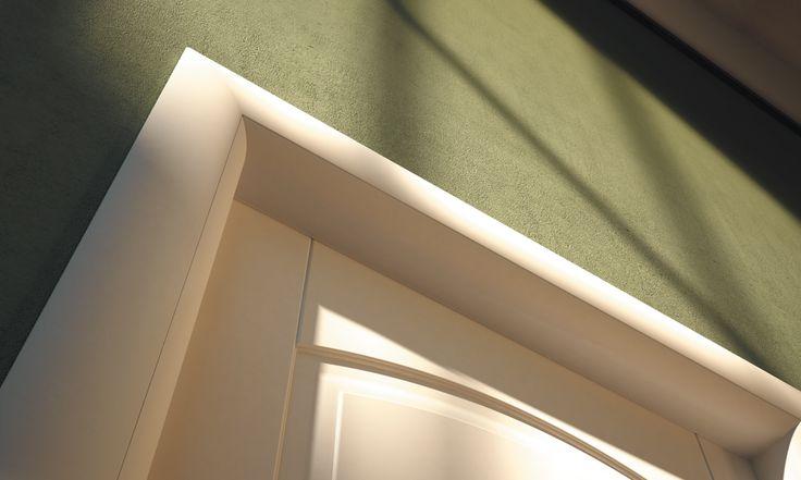 FBP porte | Collezione ALICE - Detaglio telaio esterno #fbp #porte #legno #door #wood