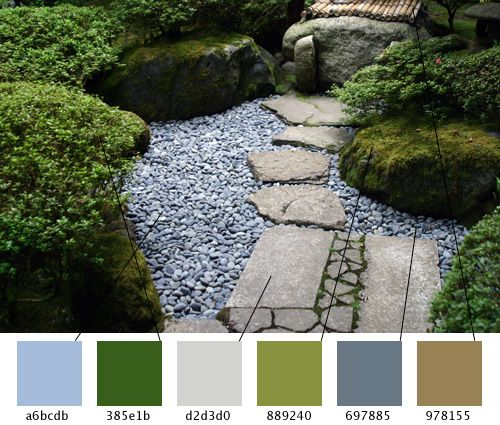 17 best images about outdoor color on pinterest for Japanese garden colors