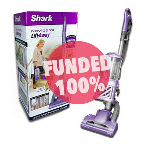 Shark Navigator Lift-Away funded on Giftling @sharknavigator