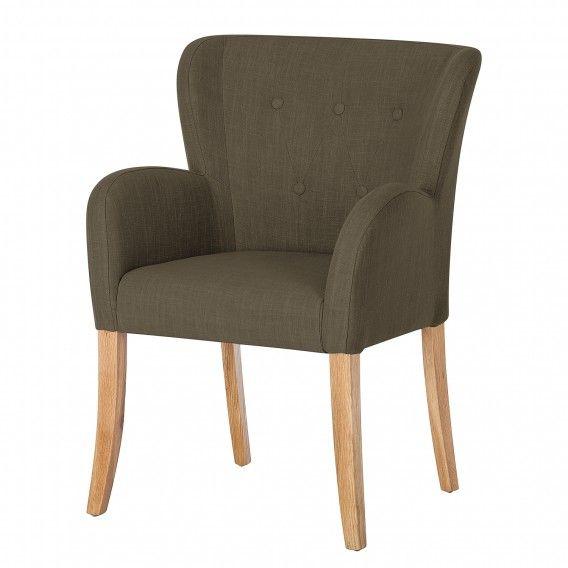 Armlehnstuhl Bakersfield Im Chesterfield Stil In Beige Home24 Armlehnstuhl Stuhle Eiche Massiv