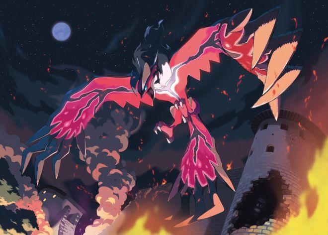 Jeu vidéo : Pokemon X Y / The Crimson Rapace by  YVELTAL    / http://www.pokemontrash.com/pokemon-x-y/pokemon-legendaires.php#yveltal