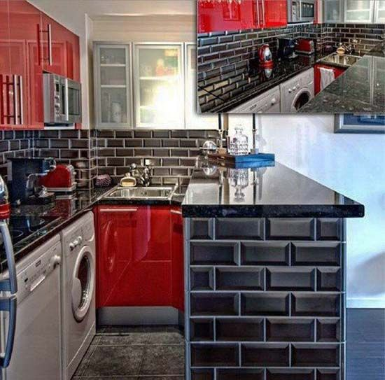 Red Tile Kitchen: 17 Best Ideas About Tiles Design For Kitchen On Pinterest