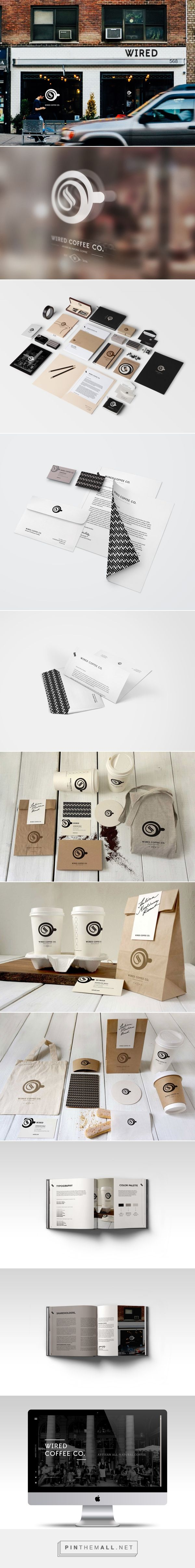 Wired Coffee Co. by Jacqueline Reilly #Branding #Print #Design #UI/UX