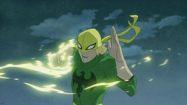 ultimate spiderman iron fist | ... ultimate spider man ...