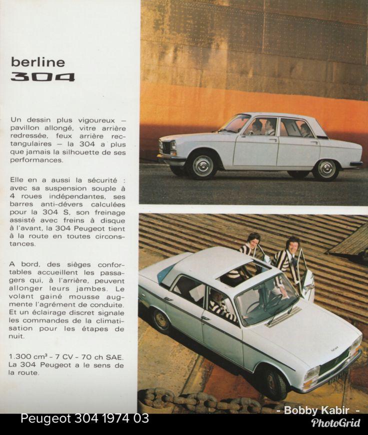 1974 Peugeot 304 by Michiel V on Flickr