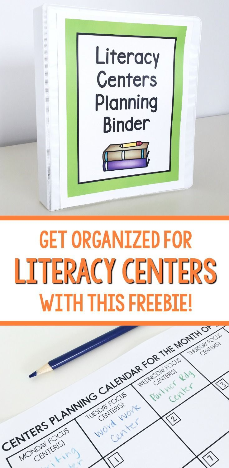 Kindergarten, first grade, and second grade teachers - get organized for your literacy centers or Daily 5! This freebie has a planning calendar, behavior checklist, and more.