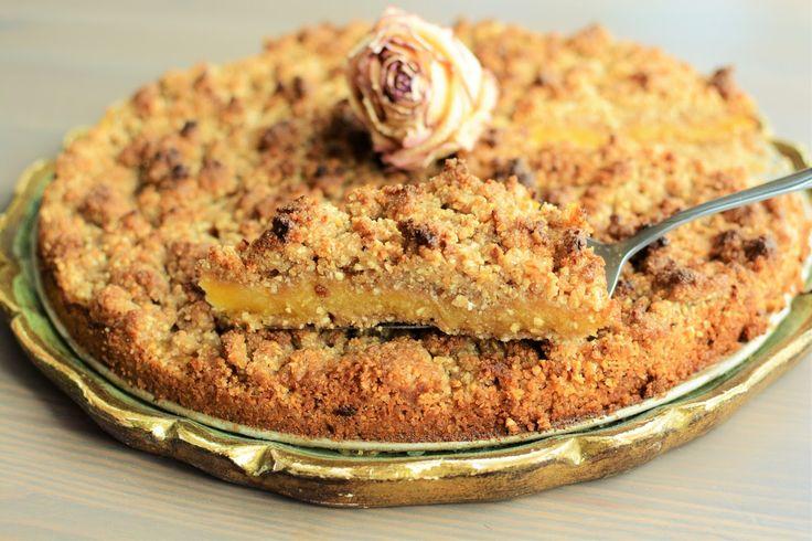 Jazzowe Smaki: Ciasto dyniowe z kruszonką z nerkowców