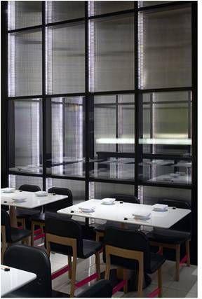 Bespoke partition glazed panels
