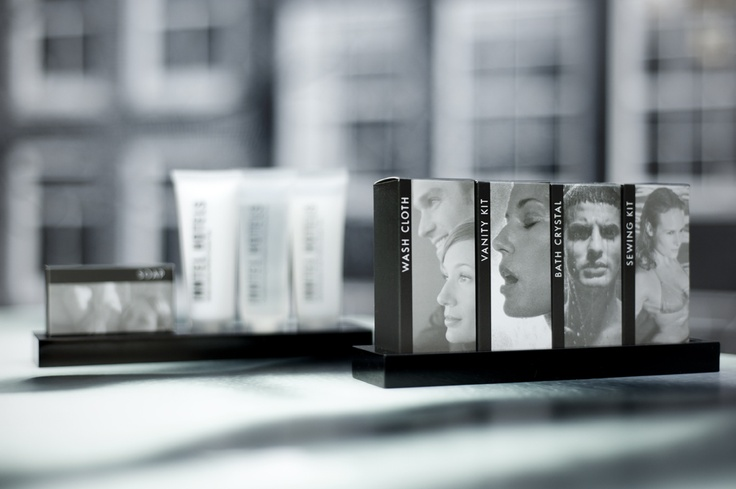 Luxury bathroom amenities in every guest room at Inntel Hotels Amsterdam Centre