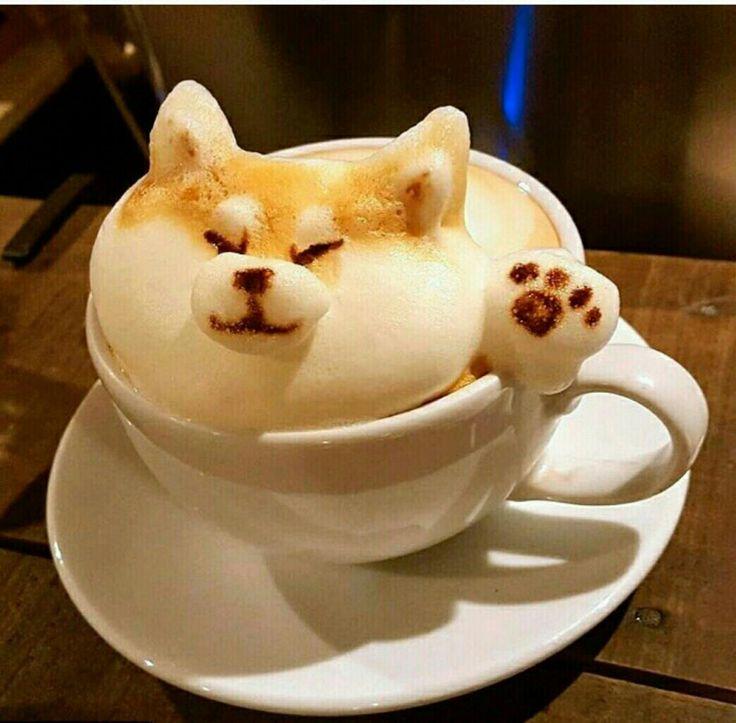 Днем, прикольны картинки кофе