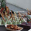 Velouté de courgettes & gressins au parmesan