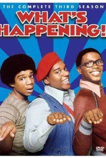 What's Happening! (1976-1979) tv series Stars:  Fred 'Rerun'Berry, Haywood Nelson, Ernest Thomas and Danielle Spencer
