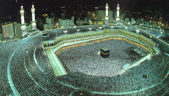 Masjidil Haram Is Known As The Largest Mosque In The World It Is In Mecca It Is Home Of Kaaba The Center Point Of All Muslim Prayers Mecca Live Mecca Islam