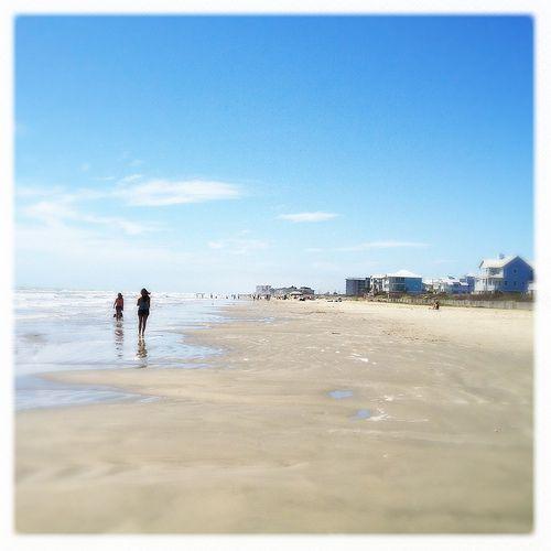 Gulf Of Mexico Vacation Spots In Texas: Sunny Beach Galveston Texas Gulf Mexico Beach IMG_6255