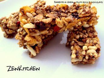 La storiella di Nasrudin e le barrette ai cereali, mirtilli e cioccolato