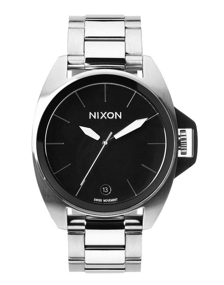 Hodinky Nixon Anthem black 10790 Kč