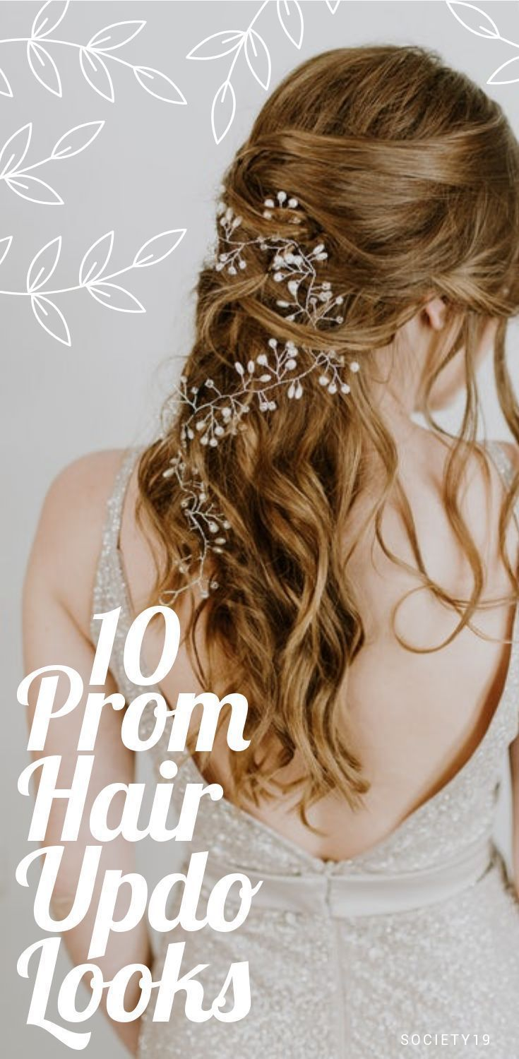 10 Prom Hair Updo Looks That Will Look Fab On You – Society19 #Prom #Hair #Updo …