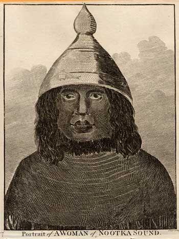 Captain Cook in Nootka Sound